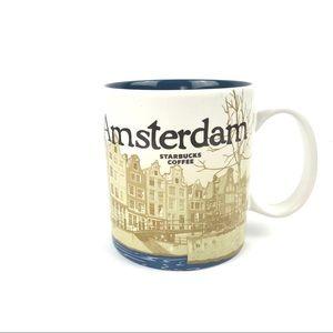 """Starbucks """"Been There"""" City Amsterdam Mug - New"""